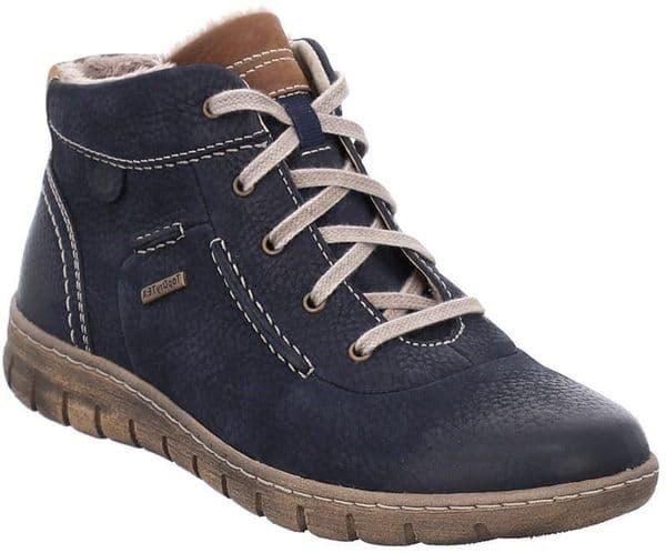 Josef Seibel Steffi 53 Ladies Ankle Boots Blue / Ocean
